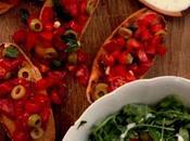 Bruschette saporite insalata leggera