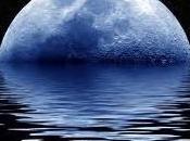 """""""Luna Blu"""" Questa notte cielo dopo tramonto"""
