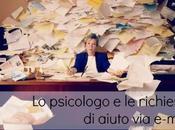 Accumulo compulsivo: psicologo richieste d'aiuto e-mail