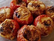 Pomodori ripieni besciamella forno