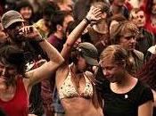 Rave party clandestino arresti Lago Garda