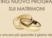 """aprono casting """"Quattro matrimoni Italia!"""""""