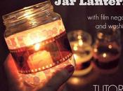 Tutorial: Lanterns with film negatives washi tape!