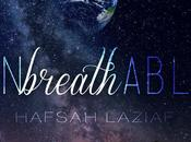 Cover reveal Unbreathable Hafsah Laziaf