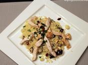 Couscous pollo, anacardi cranberries