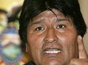 Bolivia. presidente, sequestrato europa