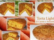 Torta light carote amaretti