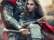 Chris Hemsworth Natalie Portman insieme nuovo poster Thor: Dark World