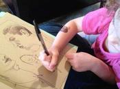 Angela Hendricks figlia: capolavori quattro mani