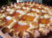 Crostata confettura pesche Amaretto Saronno