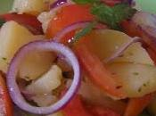 Insalata pomodori patate cipolle Tropea