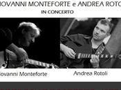 """Concerto """"Chitarra Jazz"""" Giovanni Monteforte Andrea Rotoli, domenica settembre 2013, Milano."""