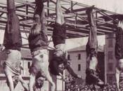 Fotografia della Storia Fotografia. morte Mussolini