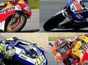 Marquez pole davanti Lorenzo, Rossi