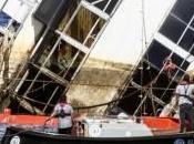 Recupero della Costa Concordia: atto rotazione