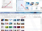 come cambiare automaticamente sfondo windows7