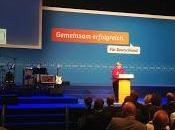 campagna elettorale segno Angela Merkel