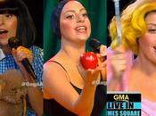 Lady Gaga Good Morning America trasforma Biancaneve.