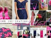 Colors inspiration: navy pink