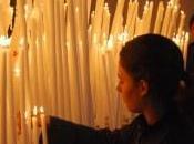 candele votive accese Berlino