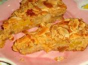 Torta pesche amaretti savoiardi