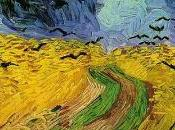 Gogh, campi grano cornacchie