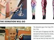 leggins Talia sconfiggere cancro