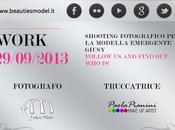 Prossimo shooting: domenica settembre!