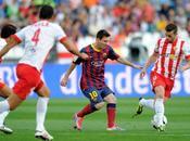 Liga: Barcellona settimo cielo Messi ferma, Valencia misura Rayo