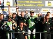 "CIV, Mugello: Stefano Cruciani Puccetti Racing Kawasaki ""Campioni d'Italia 2013″"