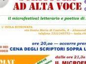 ALESSANDRIA: SCRITTURA ALTA VOCE microfestival letterario poetico