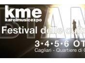 """Edizione Festival """"Karel Music Expo"""", ottobre 2013, Cagliari"""