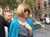 Milan Fashion Week! settimana della Moda Milanese apre l'arrivo Anna Wintour