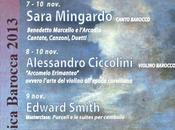 Seminari Internazionali Musica Barocca 2013 Sacile (PN) novembre 2013.