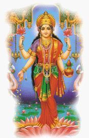Attira l'abbondanza Lakshmi.