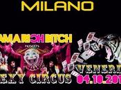 ottobre 2013 Sexy Circus Rich Bitch Party Tropicana Milano. mixer Zuber & Angel Sautufau.