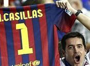 Casillas, maglia Barcellona nome