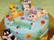 Torta Baby Looney Tunes