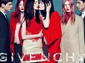 Givenchy Fall Winter 2010-11 Campaign with Mariacarla Boscono, Malgosia Bela, Joan Smalls Mert Marcus