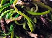 Spaghetti Zucchina Funghi Tartufo Nero