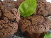 piccoli muffin cioccolato basilico pepe arcobaleno