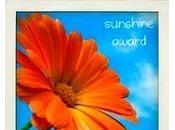 Sunshine award...