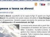 governo pensa tassa divorzi