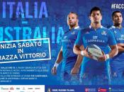 Rugby: Piazza Vittorio prepara Flash delle #FaccedaRugby