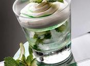 cream mojito drink