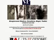 Alik Cavaliere, Mario Negri, Emilio Tadini, Bongiovanni Radice alla Fondazione Adolfo Pini