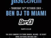 vola Miami... producer saluta Milano party Just Cavalli ottobre