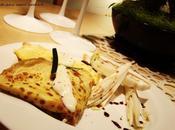 Crepes alle zucchine crema Parmigiano