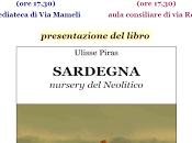 """Doppia presentazione Cagliari libro """"Sardegna, nursery Neolitico"""" Ulisse Piras."""
