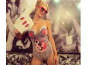 Halloween, Paris Hilton traveste Miley Cyrus